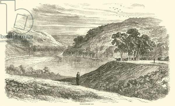 Thoroughfare Gap, August 1862 (engraving)