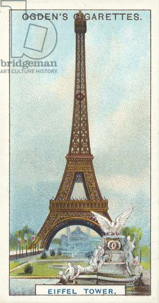 Eiffel Tower, The Highest Tower in the World (chromolitho)