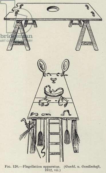 Flagellation apparatus (litho)