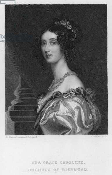 Caroline, Duchess of Richmond (engraving)