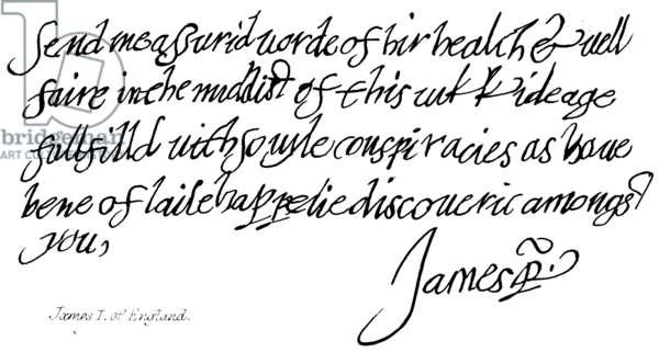 James I of England (engraving)