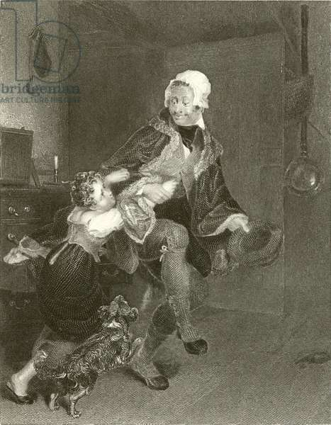 The Bachelor Uncle (engraving)