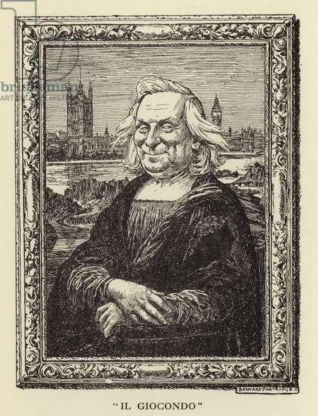"""""""Il Giocondo"""" - H H Asquith (engraving)"""
