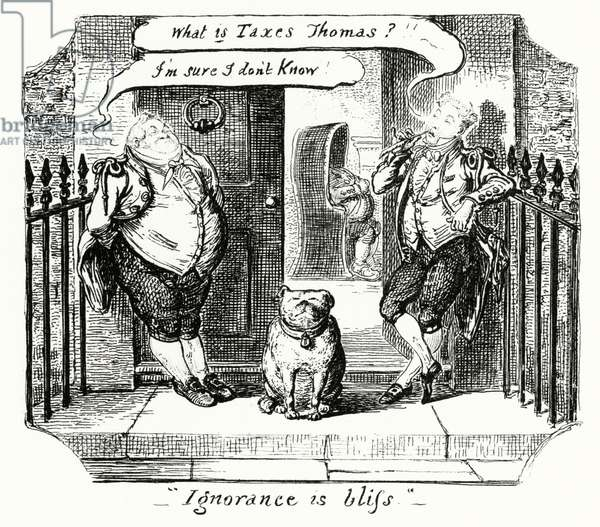 Ignorance is Bliss (engraving)
