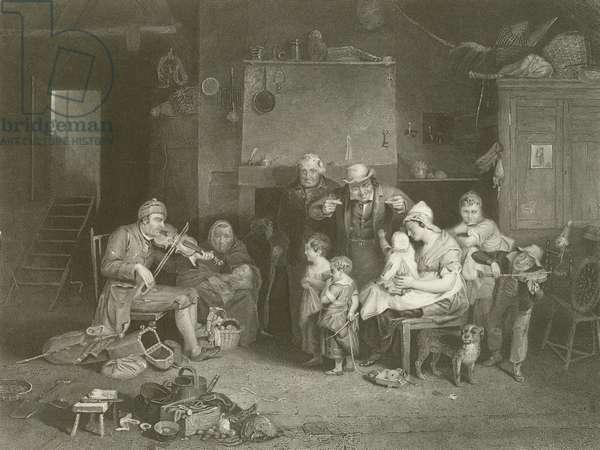 The Blind Fiddler (engraving)