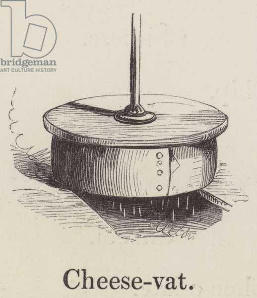 Cheese vat (engraving)