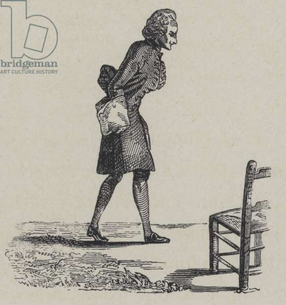 Jean-Philippe Rameau, French composer (engraving)