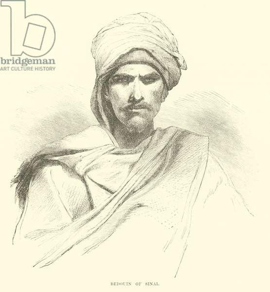 Bedouin of Sinai (engraving)