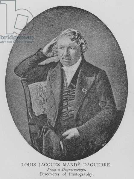 Louis Jacques Mande Daguerre (engraving)