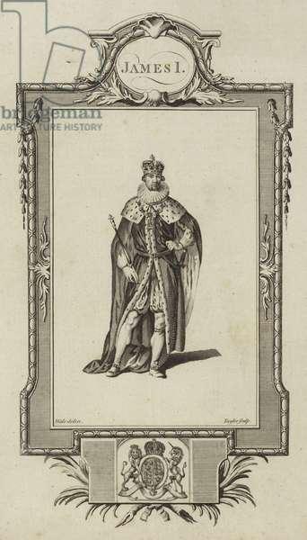 Portrait of James I (engraving)