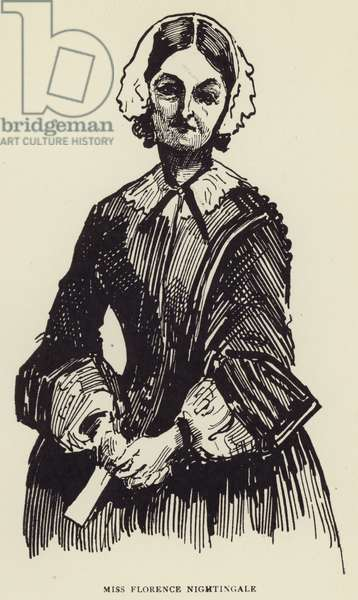 Miss Florence Nightingale (litho)
