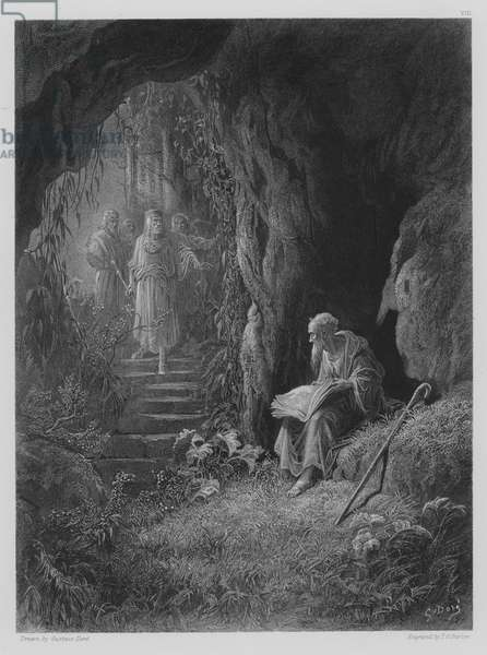 The Cave Scene (engraving)