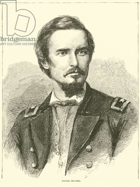 Daniel McCook, June 1864 (engraving)