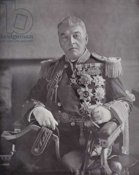The First Sea Lord, Lord Fisher of Kilverstone (b/w photo)