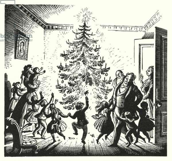 Hans Christian Andersen: The Fir-Tree (litho)
