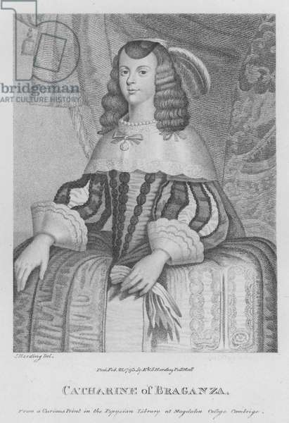 Catharine of Braganza (engraving)