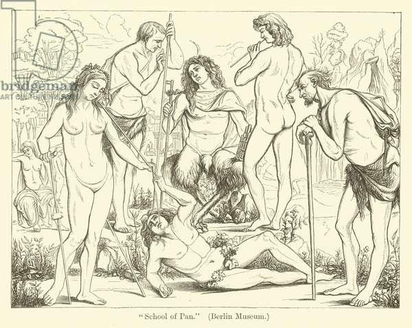 School of Pan (engraving)