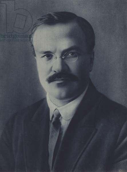 Vyachesav Molotov, Soviet politician, diplomat and Foreign Minister (b/w photo)