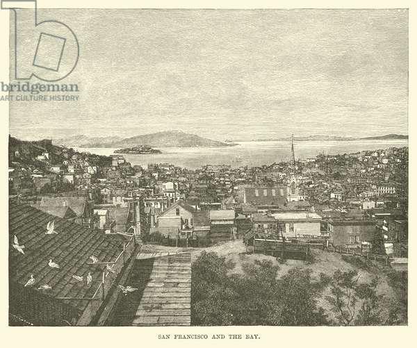 San Francisco and the Bay (engraving)