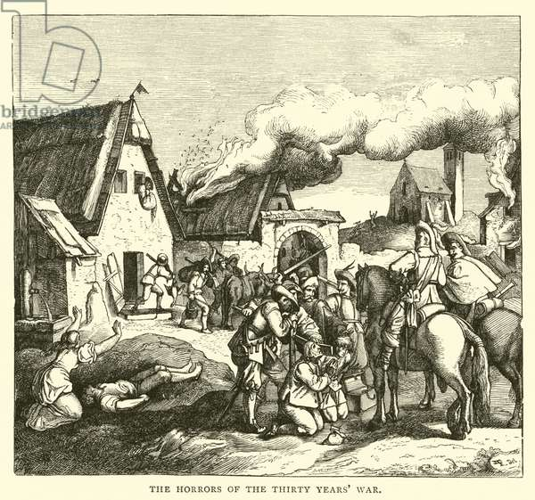 The Horrors of the Thirty Years' War (engraving)