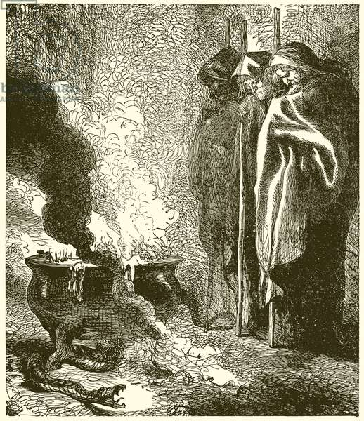 Macbeth: The Three Witches (engraving)