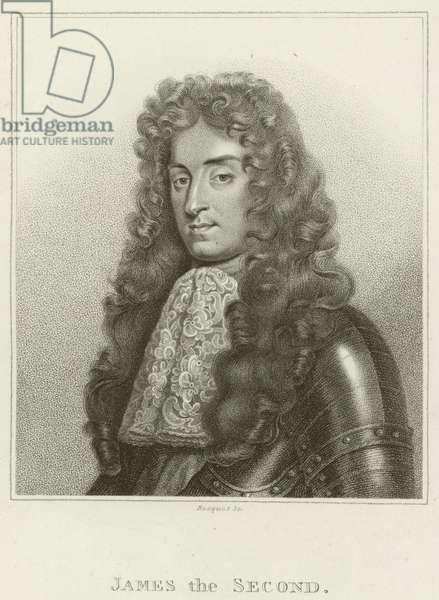 King James II (engraving)