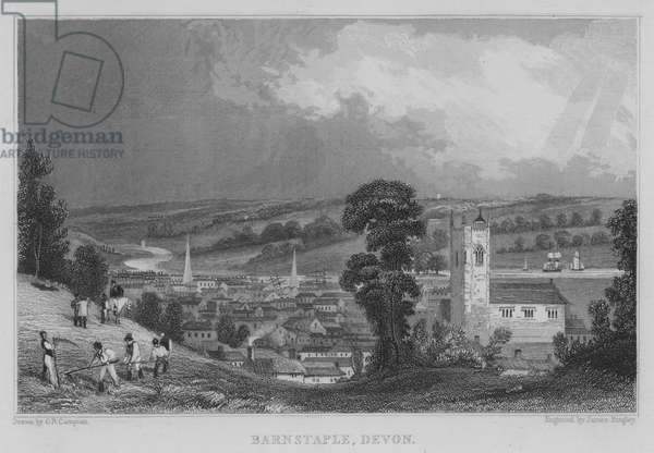 Barnstaple, Devon (engraving)