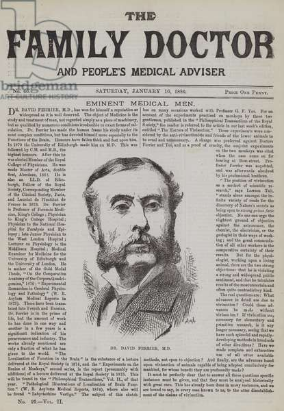 Dr David Ferrier (engraving)
