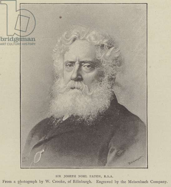 Sir Joseph Noel Paton, RSA (engraving)