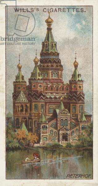 Cathedral of St Peter and St Paul, Peterhof (chromolitho)