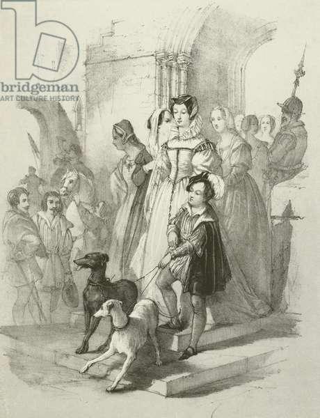 Mary of Scotland (litho)