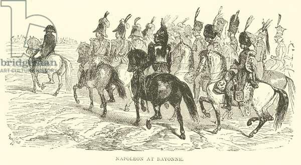 Napoleon at Bayonne (engraving)