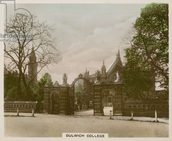 Dulwich College (coloured photo)