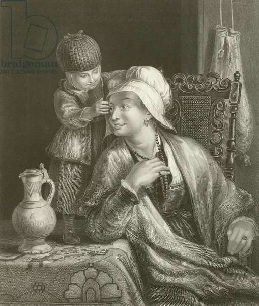 The Mother and Child (engraving)