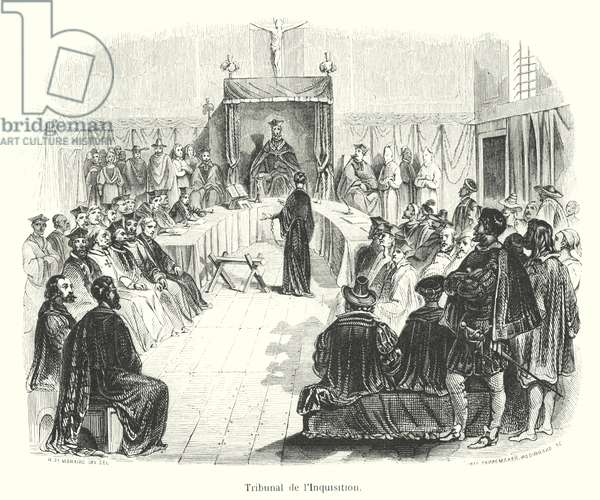 Tribunal of the Inquisition (engraving)