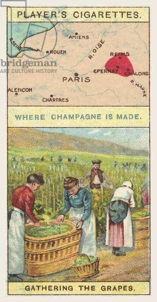 Champagne (chromolitho)