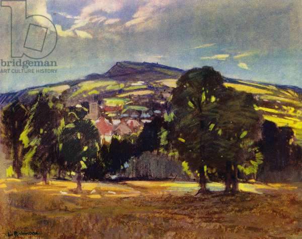 Twixt Devon and Dorest (colour litho)