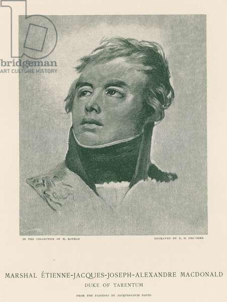 Marshal Etienne-Jacques-Joseph-Alexandre Macdonald (engraving)
