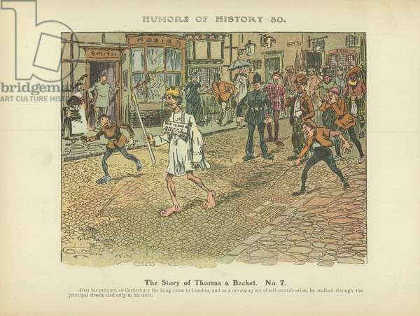 The Story of Thomas a Becket. No. 7 (colour litho)