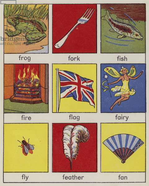 Page from Look and Learn Pictures (colour litho)