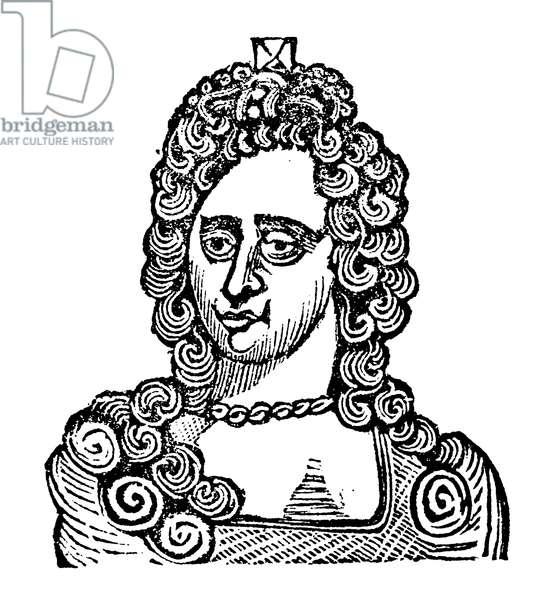 Queen Anne (woodcut)