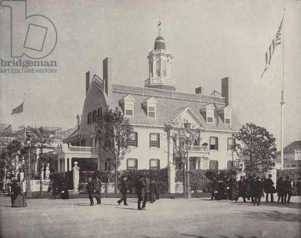 The Massachusetts Building (b/w photo)