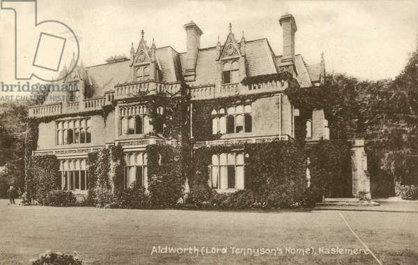 Aldworth (Lord Tennyson's Home), Haslemere (b/w photo)