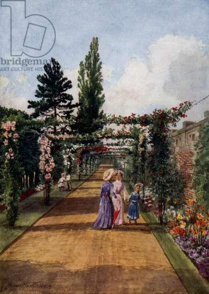 Kew Gardens: The Rosary (colour litho)