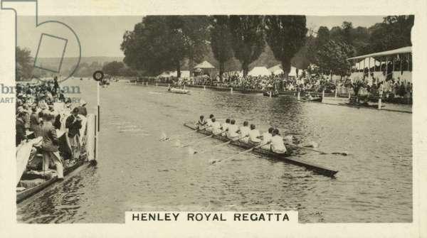 Henley Royal Regatta (b/w photo)
