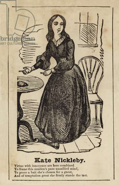 Kate Nickleby from Nicholas Nickleby (engraving)