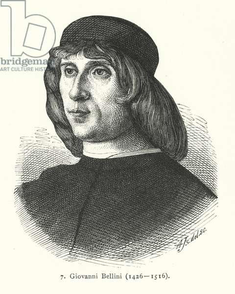 Giovanni Bellini, Italian Renaissance painter (engraving)