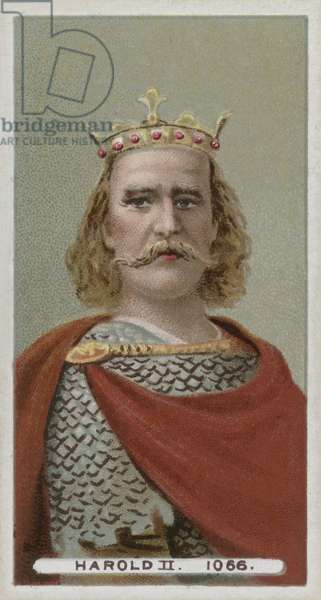 King Harold II (chromolitho)