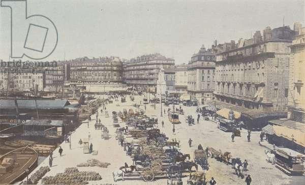 Marseille, Quai de la Fraternite (colour photo)