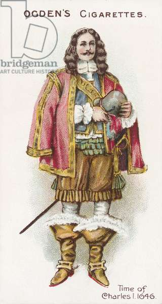 Time of Charles I, 1646 (chromolitho)
